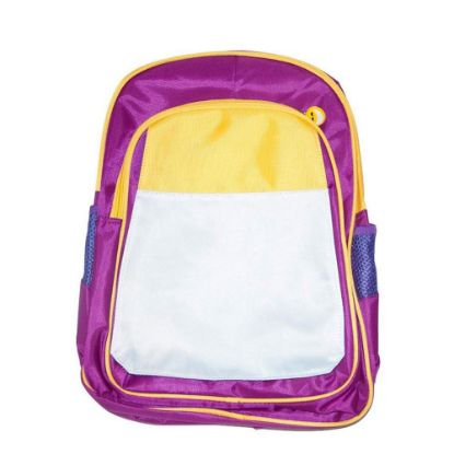 Picture of KIDS BACKPACK (PURPLE yellow) 41x30x15cm