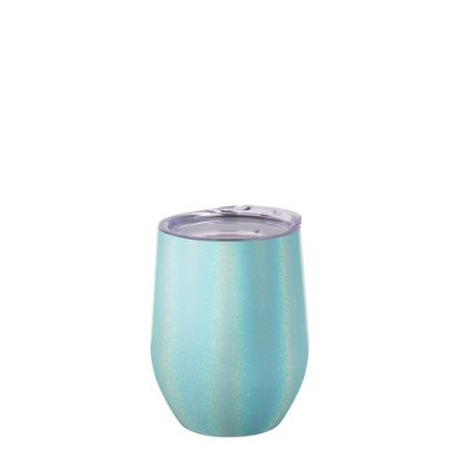 Picture of Stemless Cup 12oz (Sparkling Blue Light)