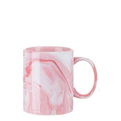 Picture of MUG 11oz (MARBLE Texture) Pink