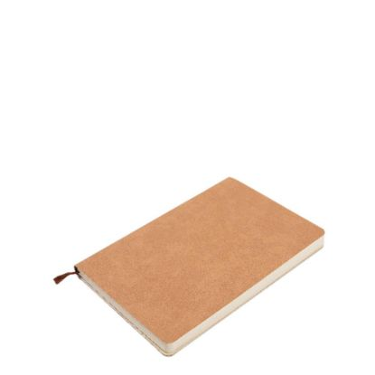 Picture of PU Leather Brown notebook (A5) 14.5x21cm