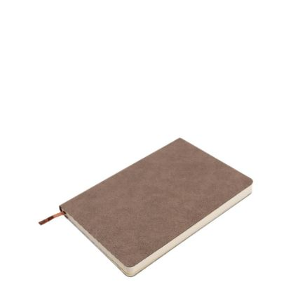 Picture of PU Leather Brown Dark notebook (A5) 14.5x21cm