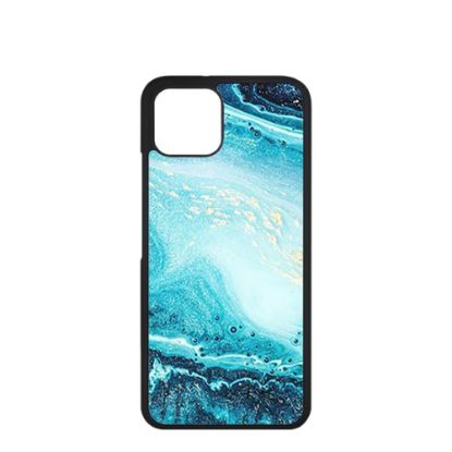 Picture of APPLE case (iPHONE 13) TPU BLACK with TEMPERED GLASS