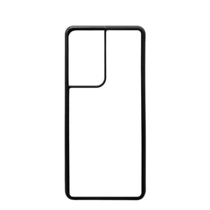 Picture of GALAXY case (S21 Ultra) TPU BLACK with Alum. Insert