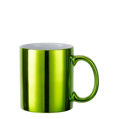 Picture of MUG 11oz - MIRROR - GREEN Light