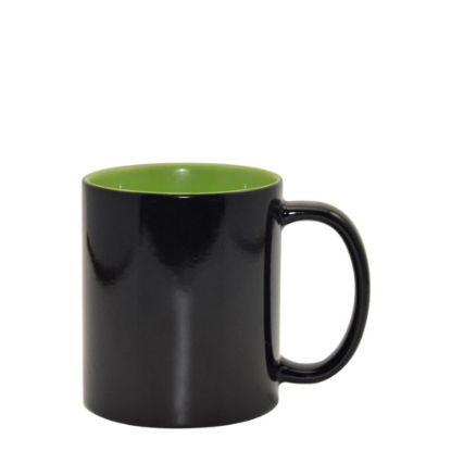 Picture of MUG CHANGING COLOR 11oz. (Inner GREEN Light) gloss