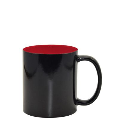 Picture of MUG CHANGING COLOR 11oz. (Inner RED) gloss